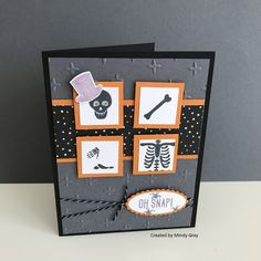 My Funny Bones by Stampin' Up! - created by Mindy Gray