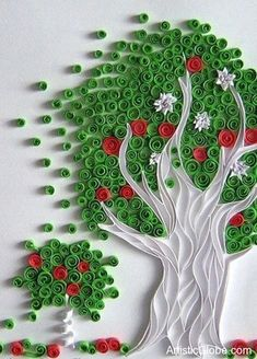 quilling tree | Creative World