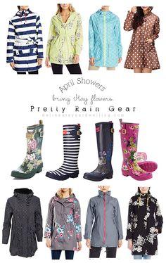 Pretty Rain Gear, Rain Boots and Rain Coats - Delineate Your Dwelling