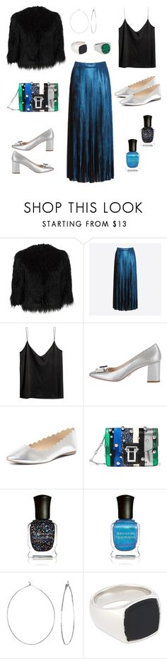 """NYE"" by helenethorsen ❤ liked on Polyvore featuring Theory, Designers Remix, H&M, Prada, Dorothy Perkins, Proenza Schouler, Deborah Lippmann, Phyllis + Rosie and Tom Wood"