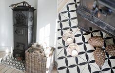 Tile for the Kitchen and Bathroom -- Julebolig: Enkel og rå pynt - Alt for damerne