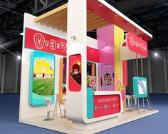 Booth for Yucatan, Mexico