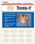 Adhesive thimbles