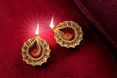 Beautiful Golden Diwali Diya Lamp Lights Stock Photo - Image of gold, golden: 101468364 Diya Lamp, Diwali Diya, Festivals Of India, Golden Red, Diwali Decorations, Happy Diwali, Red Background, Fireworks, Lamp Light