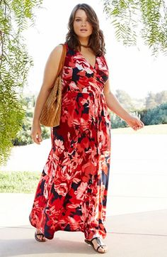Plus Size Maxi Dress & Accessories | Nordstrom