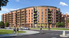 Clapham Park, Mixed Use Building, Residential/Retail in London. By HTA Design
