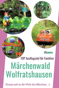 Märchenwald im Isartal - Wolfratshausen - KiMaPa The fairytale forest in the Isar valley in Wolfratshausen, not far from Munich, invites with its numerous fairytale characters to a great family outing Adverb Activities, Kindergarten Activities, Fairy Tale Forest, Fairy Tales, Camping Checklist, Camping Hacks, Graduation Songs, Best Parenting Books, Japanese Poster Design