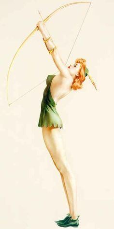 """""""That one time Stephanie was Robin Hood and did some sweet archery.""""  <- this was the quote when I repinned.  how appropriate.  haha"""