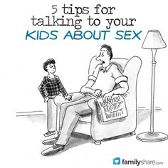 Talking about sex with your kiddos... need to do this!