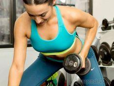 12 упражнений с гантелями для сильных и красивых рук