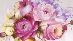 Segredo Para Pintar Rosas Perfeitas em Tecido - Você Conhece? Drawing Course, Fabric Painting, I Am Awesome, Drawings, Flowers, Magnolias, Acrylics, Youtube, Step By Step Painting