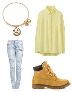 """""""Seungri - Let's Not Fall In Love"""" by clemerina ❤ liked on Polyvore featuring Uniqlo, Liliana, Alex and Ani, women's clothing, women's fashion, women, female, woman, misses and juniors"""