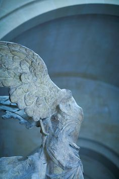 Louvre - Nike of Samothrace if I remember correctly from freshman art history...