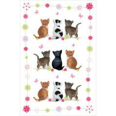 Ręcznik kuchenny Flower Kittens