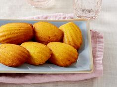 Safflower Madeleines (from Southern at Heart)