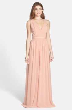 f4244e4e3db Free shipping and returns on ERIN erin fetherston  Sandrine  Embellished  Chiffon Gown at Nordstrom