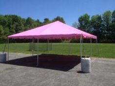 That's right.... A Pink Tent! You can rent one today!  If you see unusual tents, and want to use them in Central PA,  we can source them from other tent rental companies and deliver to you a turn key solution