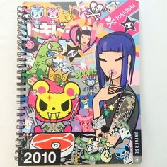 2010 Tokidoki Collectible Planner Anime Kawaii Brand new. Great for collectors, super awesome images on every page. tokidoki Other