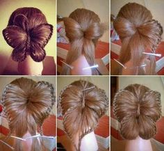 Omg I want all my girls hair done like this!!! Be too cute for first day of school.