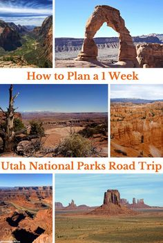 How to Plan a Successful 1 Week Utah National Parks Road Tri.- How to Plan a Successful 1 Week Utah National Parks Road Trip Itinerary – The Globetrotting Teacher Utah National Parks Road Trip New Orleans, New York, Monument Valley, Grand Canyon, Utah Parks, Travel Photographie, Utah Vacation, Vacation Ideas, Tennessee Vacation