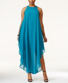 Love Squared Plus Size Halter Maxi Dress