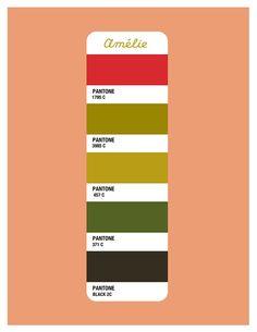Amelie Color Palette - Beth Mathews Design                                                                                                                            More
