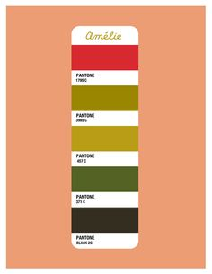 Amelie Color Palette - Beth Mathews Design
