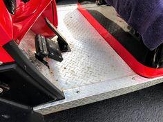 Diamond plate golf cart floor mats for any golf cart. #golfcartfloormats Custom Golf Cart Bodies, Custom Golf Carts, Custom Body Kits, Golf Cart Accessories, Fender Flares, Rubber Tires, Floor Mats, Plate, Flooring