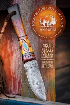 Prairiewind Hand Forged Knives and Custom Leather Works by PWTradeGoods Knives And Tools, Knives And Swords, Beil, Collectible Knives, Hand Forged Knife, Knife Handles, Knife Sharpening, Custom Knives, Survival Knife