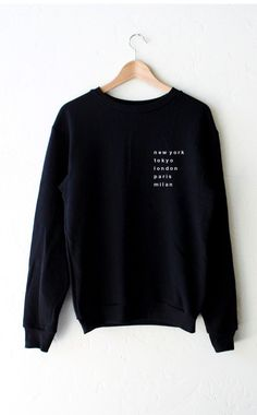 - Description - Size Guide Details: Super soft & cozy 'Cities - New York, Tokyo, London, Paris, Milan' oversized crew neck fleece sweatshirt by NYCT Clothing. Oversized, Unisex fit. 50% Cotton, 50% Po