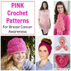 Support Breast Cancer Awareness: Pink Crochet Patterns