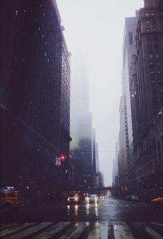 Blanket of rain