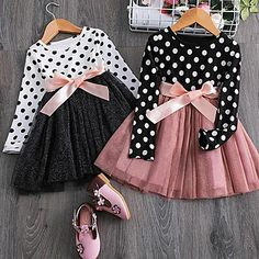 Kids Outfits Girls, Toddler Girl Dresses, Girl Outfits, Cute Dresses, Girls Dresses, Party Dresses, Trendy Dresses, Baby Girl Winter, Fall Baby