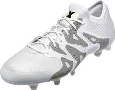 692116ca3 adidas X 15.1 FG AG - White   Black - SoccerPro.com. Soccer ShoesSoccer ...
