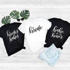Bride Babe of Honor and Bride's Babes Shirts That Give to Charity | ROX – ROX Jewelry Shop