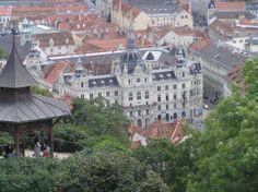 Austria-Graz. Colina  Sporgasse.