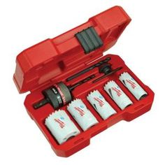 #2 - Need for the ceiling fans - Milwaukee Bi-Metal Hole Saw Kit (8-Piece)-49-22-4005 at The Home Depot