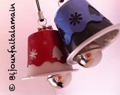 Sinos de Natal em capsulas Nespresso
