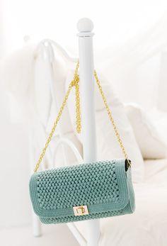 crochet Shoulder Bag free pattern