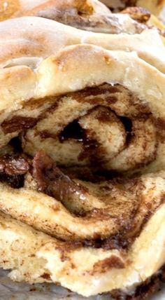 Chocolate Cinnamon Roll Pull Apart Bread