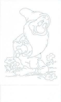 Bashful. Bloosje String Art Templates, String Art Patterns, Push Pin Art, Snow White Coloring Pages, Stitching On Paper, Nail String Art, Rhinestone Art, Kids Art Class, Needlepoint Stitches