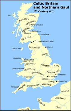 Historical Map of Celtic Britain and Northern Gaul - Century B. The Celts. The Gauls. Uk History, History Page, History Timeline, European History, British History, History Facts, Scotland History, Strange History, Asian History