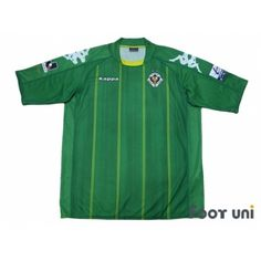 Tokyo Verdy 1969 2010 Home Shirt/Jersey kappa J League Football Shirts,Soccer Jersey, Classic,Vintage,Retro and rich assortment is the online shop Footuni Japan. Tokyo Verdy, J League, Retro Football Shirts, Retro Vintage, Soccer, Classic, Mens Tops, Shopping, Derby