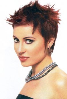 2014 Short Spiky Hairstyles For Woman