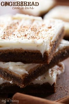 You won't be able to resist the sweet combination of gingerbread and cream cheese frosting. Get the recipe at Chef in Training. - CountryLiving.com