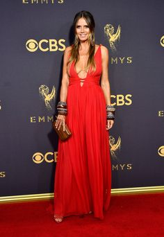 Heidi Klum Photos - TV personality Heidi Klum attends the 69th Annual Primetime Emmy Awards at Microsoft Theater on September 17, 2017 in Los Angeles, California. - 69th Annual Primetime Emmy Awards - Arrivals