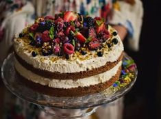 For Heaven's Cake: Irresistible Cakes for All Occasions Crepes, Milk Diet, Tiramisu, Easy, Food And Drink, Birthday Cake, Sweets, Fresh, Baking