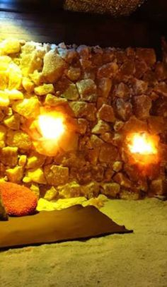 It's like a relaxing beach vacation... minus the beach.  Asheville, NC salt cave