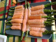 Smoked Salmon Asparagus Wraps