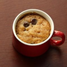 Quick Fix Microwaveable Chocolate Chip Cookie (aka PMS Cure in a Cup)